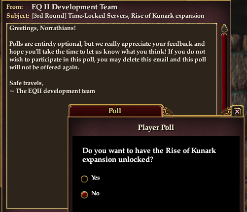 It is a simple yes/no question