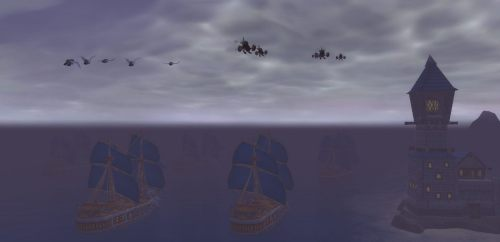 Sailing from Stormwind