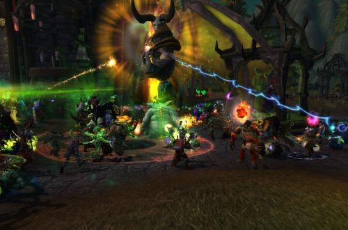 In the chaos at Tarren Mill