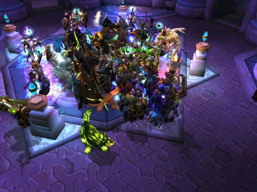 Khadgar draws a crowd