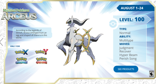 Arceus of Legend