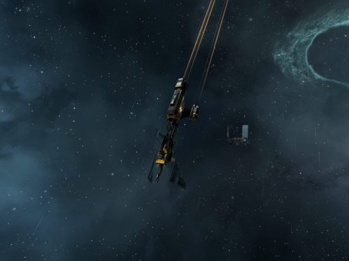 In the distance, a Keepstar