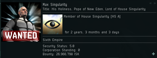 Who puts a bounty on a pope? Heretics do.