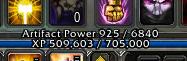 Last level: 1,000 Next level: 6,840