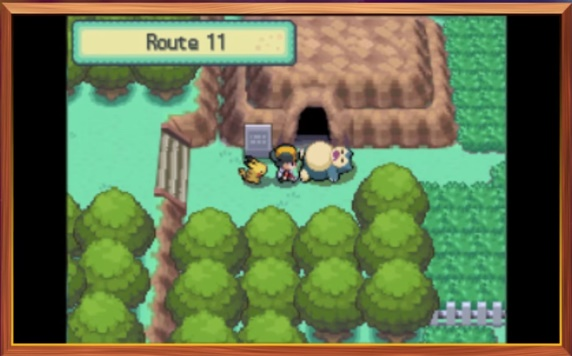 Snorlax in his usual role as sleeping obsctruction
