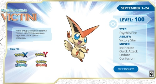 Victini for Victory
