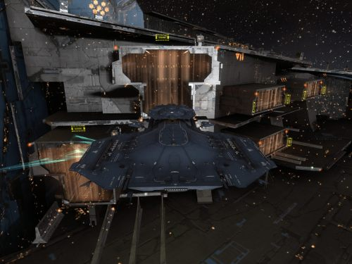 My Barghest on the Fortizar