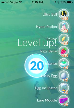 Level 20 treats