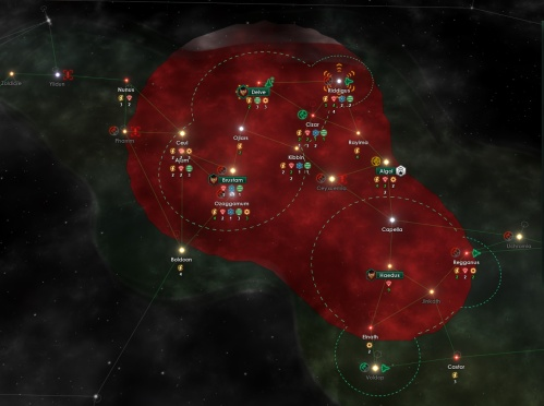 The start of another space empire