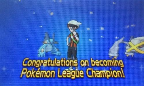 Champion of the Hoenn League