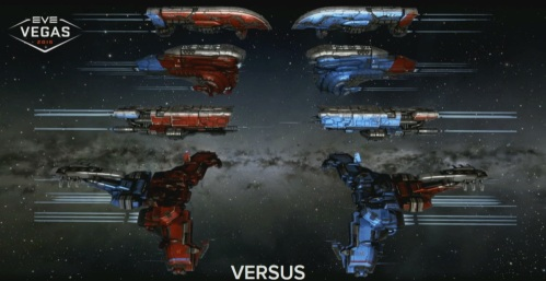 Red vs. Blue, each with a seed of the other