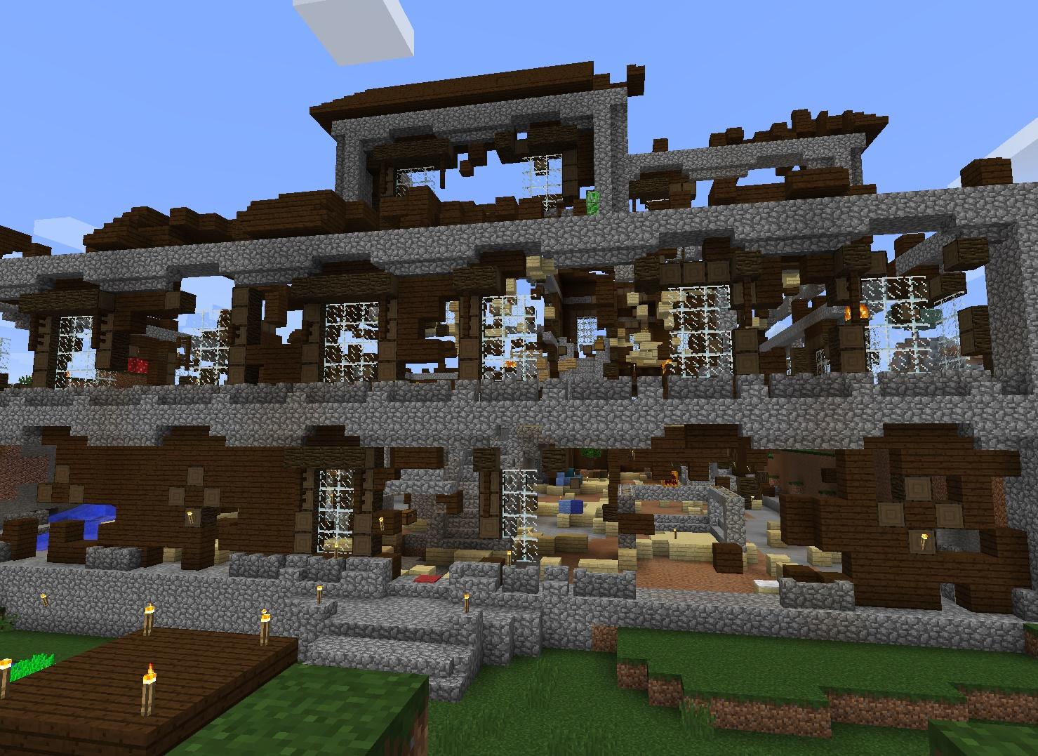 More Minecraft Mansion...