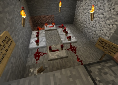 The redstone clock