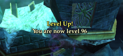Made it to level 96
