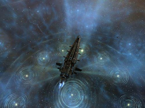 Sleipnir riding through a fleet boost burst