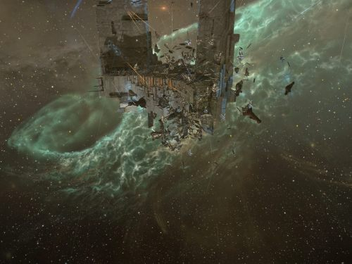 Capitals landing on the Keepstar