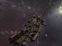 A Typhoon fleet attacking the Keepstar