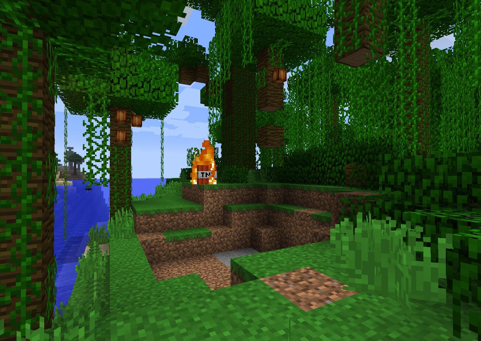 мыши джунглей майнкрафте #2