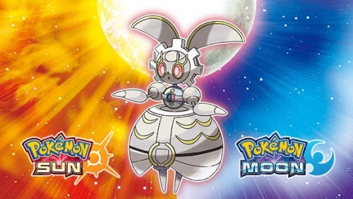 Magearna in Sun & Moon