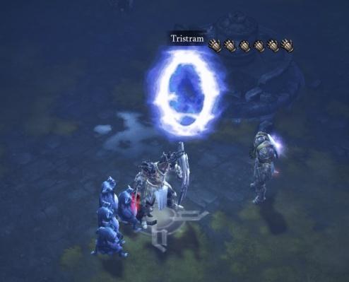 The portal, complete with cursor glitch