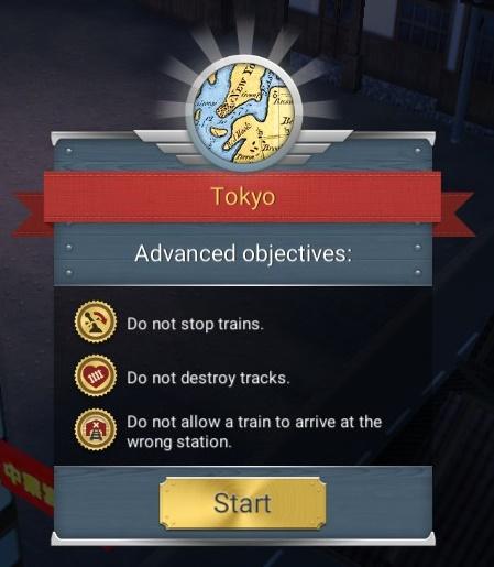 Bonus goals for the Tokyo scenario