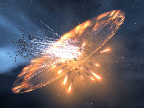 Charon explodes in Jita