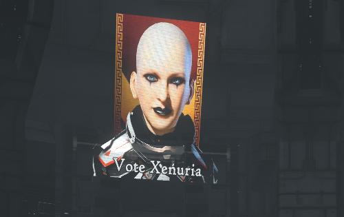 A vote for Xenuria is a vote for Xenuria