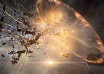A dreadnough explodes