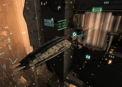 Sitting on the Keepstar undock