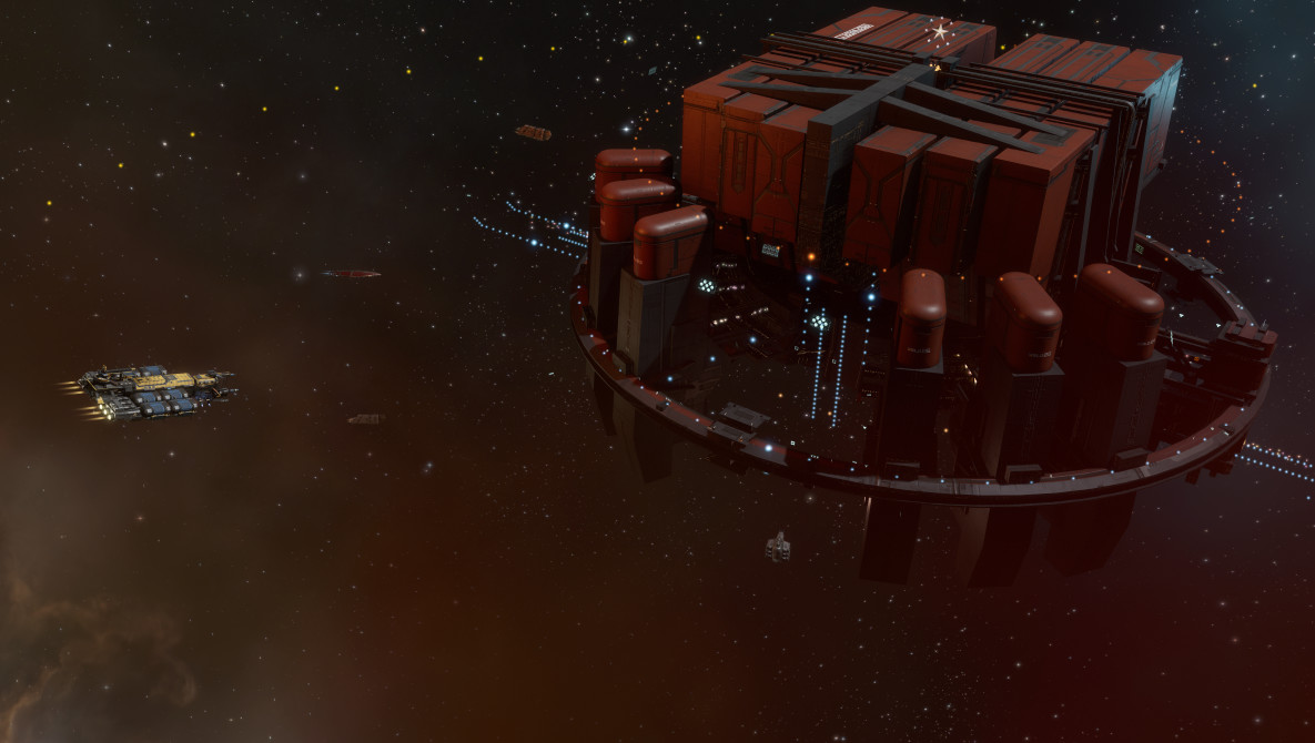 Lifeblood comes to eve online the ancient gaming noob a tatara refinery in the wild malvernweather Image collections
