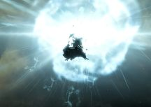 The Drake up close to another explosion