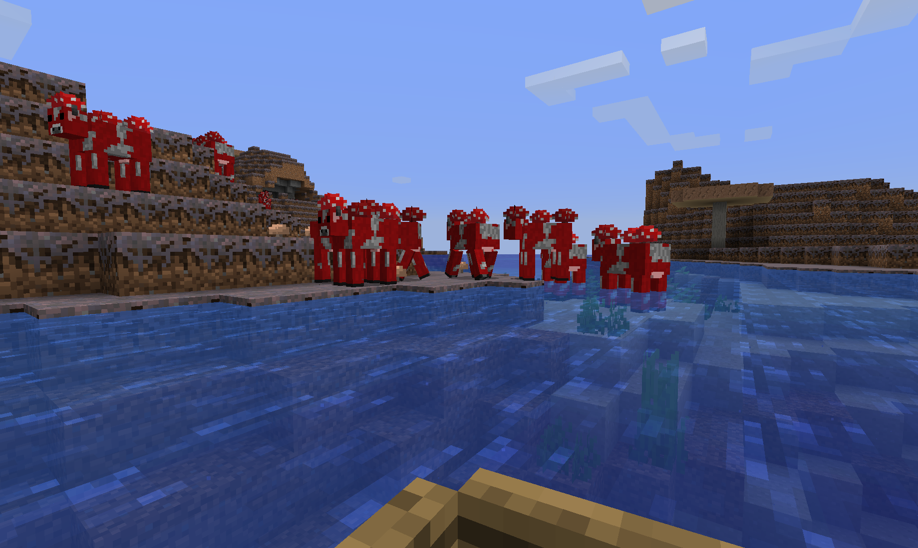 Minecraft and the Search for a Warm Ocean   The Ancient