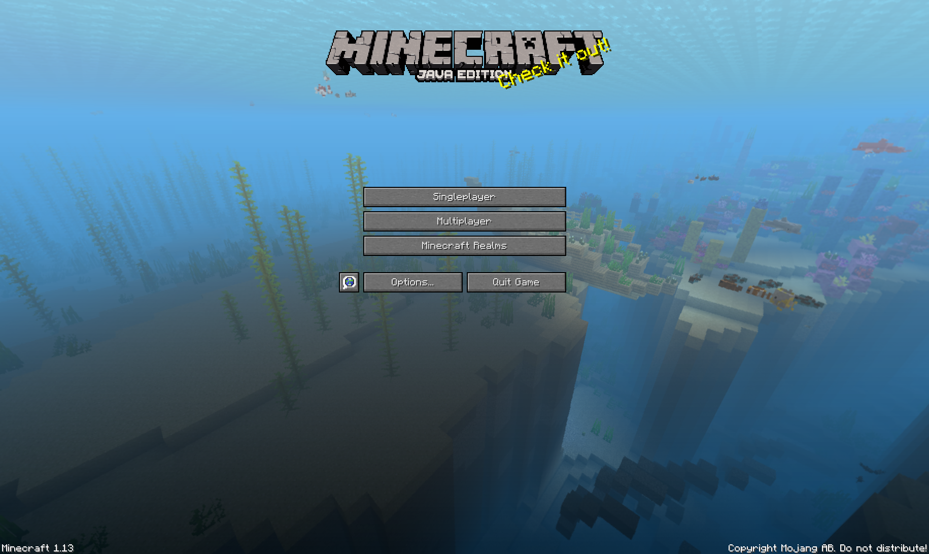 Minecraft And The Update Aquatic The Ancient Gaming Noob
