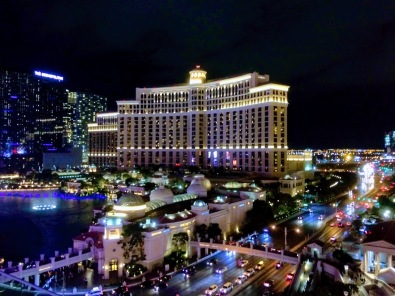 Bellagio as seen from Drai's
