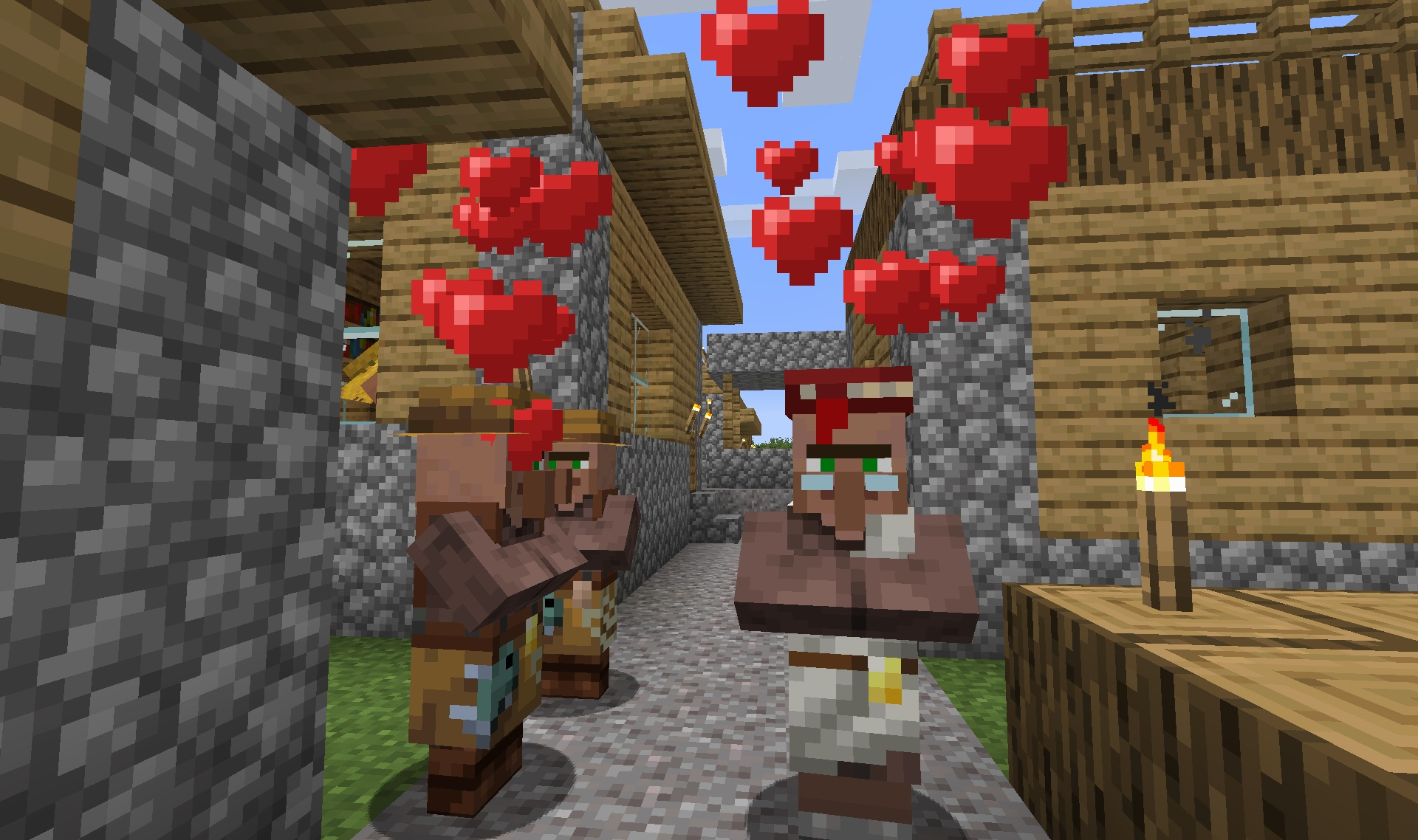 The Minecraft Village and Pillage Update Lands | The Ancient